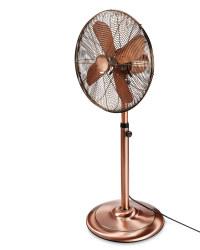 Easy Home Copper Pedestal Fan
