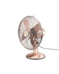 Easy Home Copper Retro Desk Fan