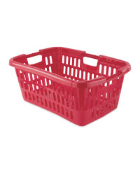 Easy Home Laundry Basket - Magenta