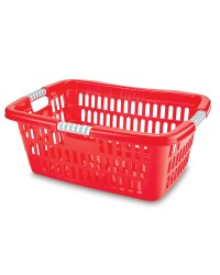 Easy Home Laundry Basket - Red