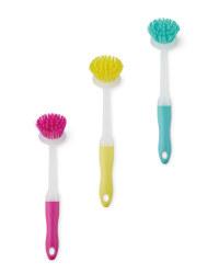 Easy Home Round Dish Brush
