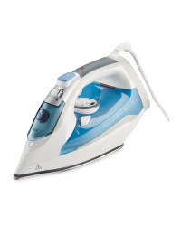 Easy Home Steam Iron - Blue/White