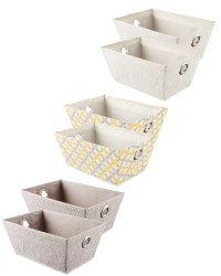 Easy Home Storage Tote 2-Pack
