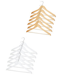 Easy Home Wooden Hangers