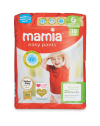 Mamia Easy Pants XL Size 6 18 Pack