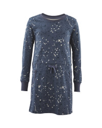 Lily & Dan Navy Sweater Dress