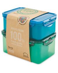 Eco Lock & Lock Food Storage 2 Pack