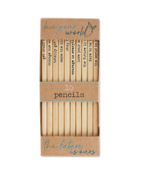 Script Eco Pencils 10 Pack