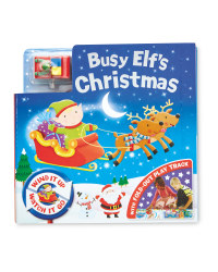 Eddie Elf Board Book