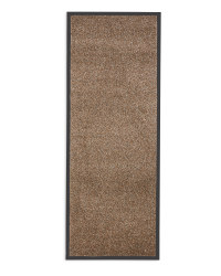 Edged Dirt Buster Mat - Light Brown