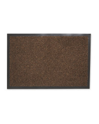 Edged Dirt Buster Runner - Dark Brown