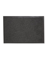 Edged Dirt Buster Runner - Dark Grey