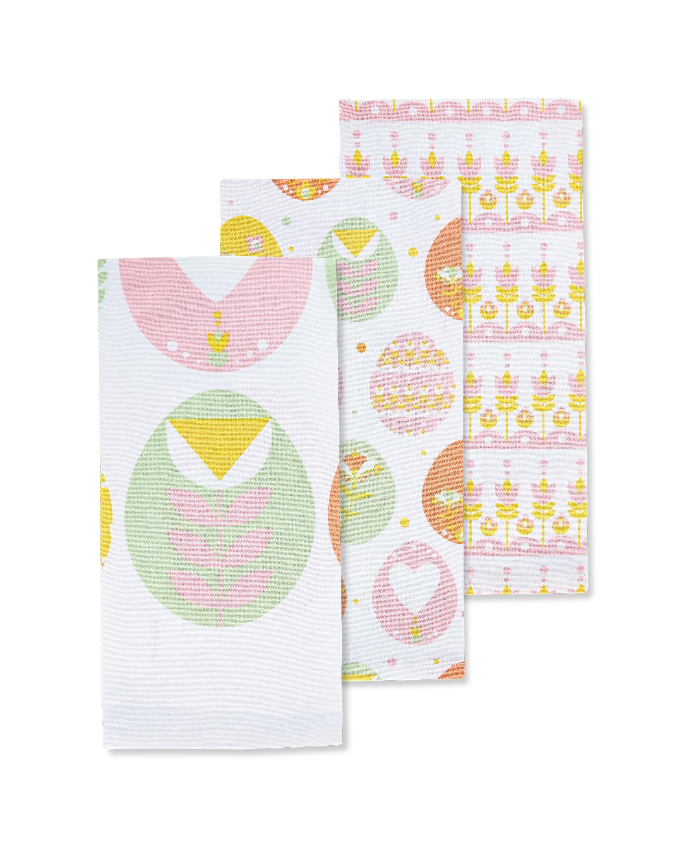 Eggs Tea Towels 3 Pack