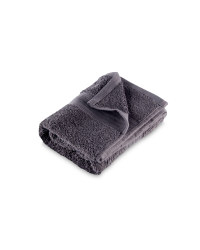 Egyptian Cotton Hand Towel - Charcoal