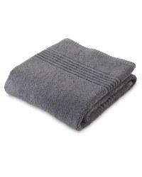 Egyptian Cotton Hand Towel - Charcoal