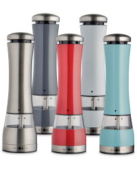 Electronic Salt and Pepper Mill