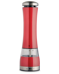 Electronic Salt and Pepper Mill - Red
