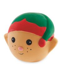 Elf Squeaky Dog Toy
