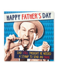 Email Father's Day Square Card