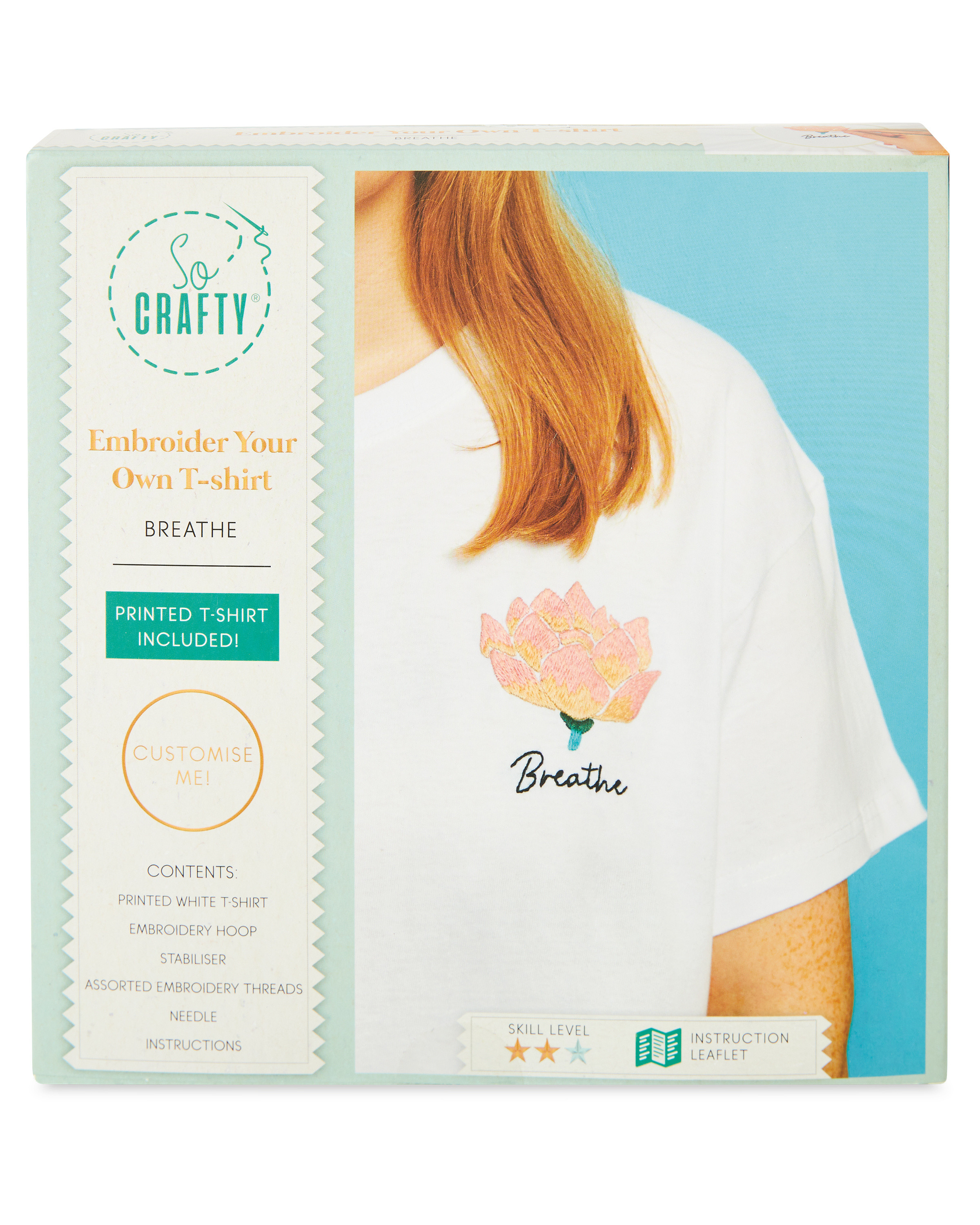 Embroider Your Own T-shirt Breathe
