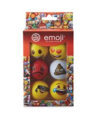 Emoji Golf Balls 6-Pack
