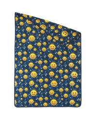 Emoji Music Smiley Throw