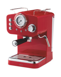 Ambiano Espresso Maker - Red