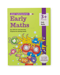 3+ Early Maths Workbook