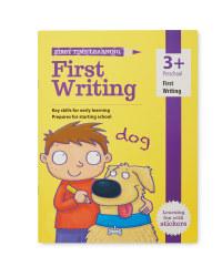3+ First Writing Workbook