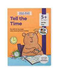 5+ Tell the Time Workbook