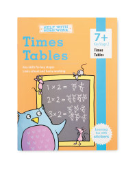 7+ Times Tables Workbook