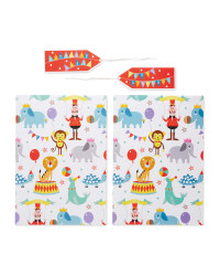 Penny Pots Circus Gift Wrap