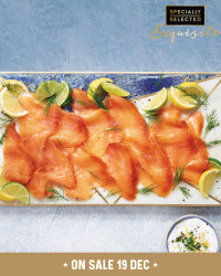 Exquisite Rope Hung Smoked Salmon