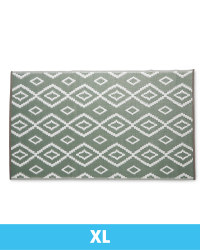 Extra Large Aztec Outdoor Rug