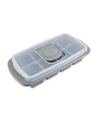 Extra Large Ice Cube Tray - Grey