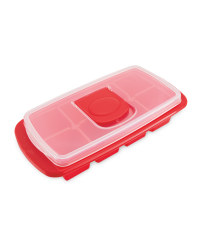 Extra Large Ice Cube Tray - Red