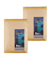 Extra Large Padded Envelopes 6 Pack