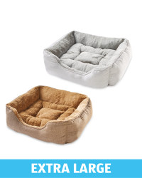 Extra Large Plush Pet Bed
