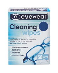 Eyewear Glasses Cleaning Wipes