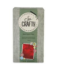 So Crafty Fabric Dye - Red