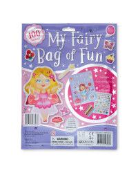 Fairy Sticker and Activity Bag