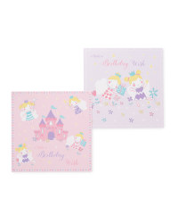 Fairy Wish Birthday Cards 10-Pack