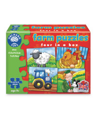 Children's Farm Lotto Game
