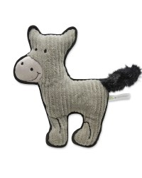 Farmyard Donkey Plush Dog Toy