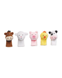 Farmyard Finger Puppets 5 Pack