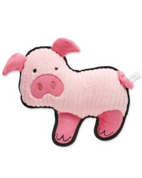 Farmyard Pig Plush Dog Toy