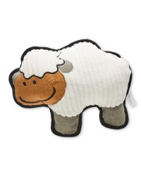 Farmyard Sheep Plush Dog Toy
