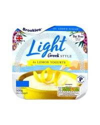 Fat Free Greek Style Lemon Yogurt