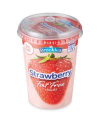 Fat Free Strawberry Yogurt