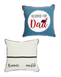 Father's Day Cushions 2 Pack